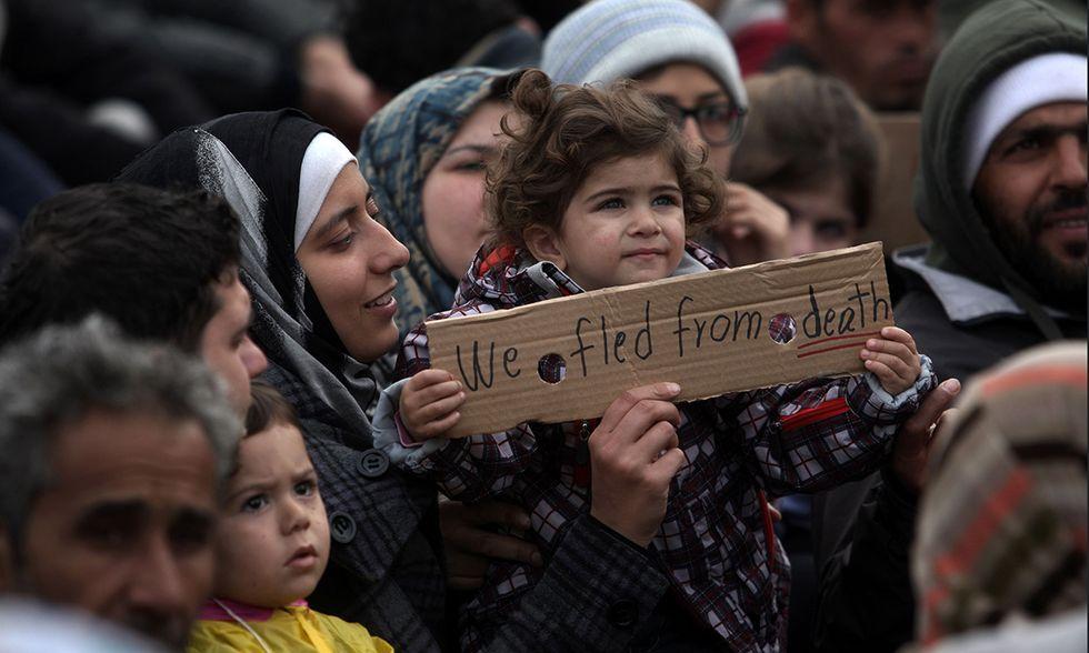 Campo migranti di Idomeni, Grecia