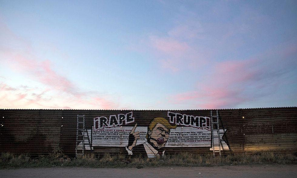 Contro Trump in Messico