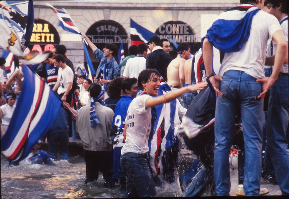 Il 19 maggio la Sampdoria festeggia 25 anni dallo storico Scudetto del 1991