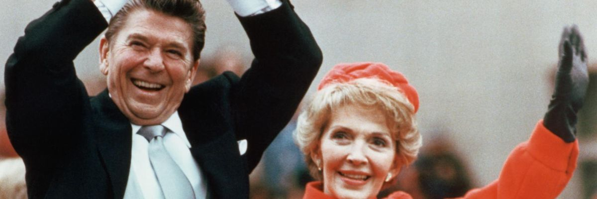 Ronald e Nancy Reagan