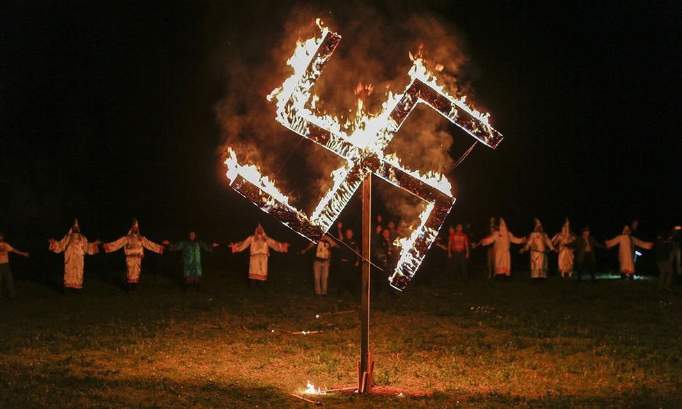 Nazionalsocialisti e Ku Klux Klan in Georgia