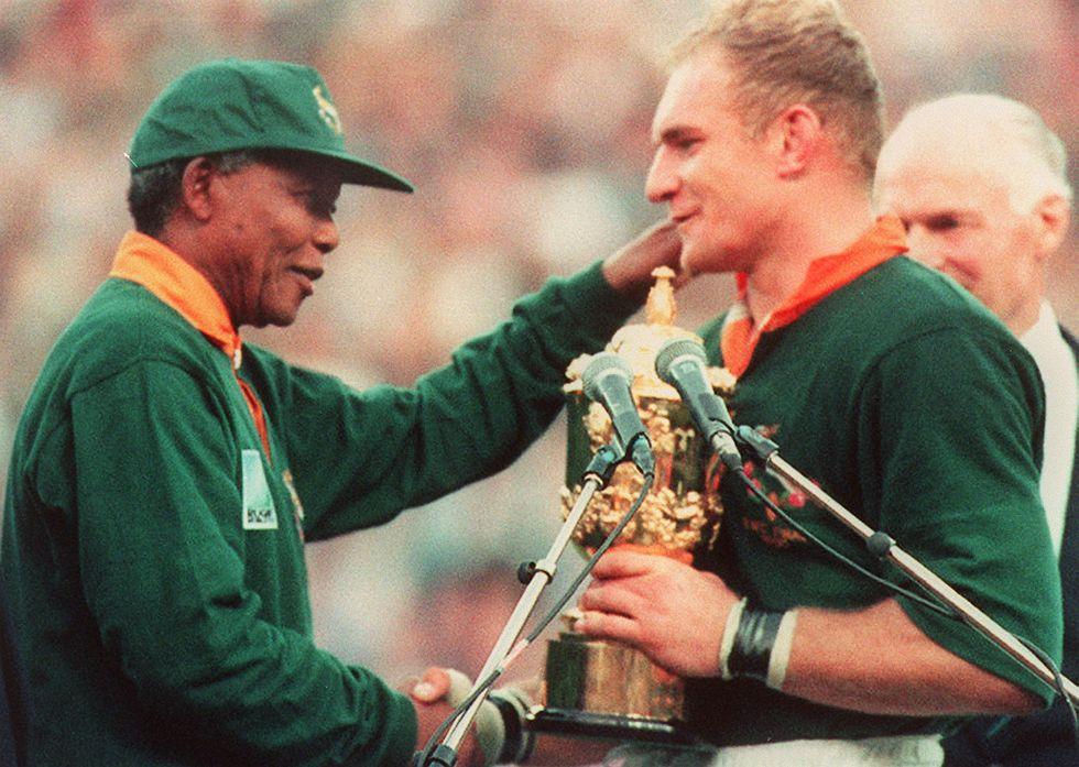 Nelson Mandela, l'Invictus