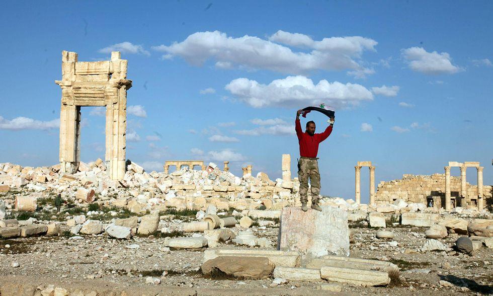 Palmira liberata dall'ISIS