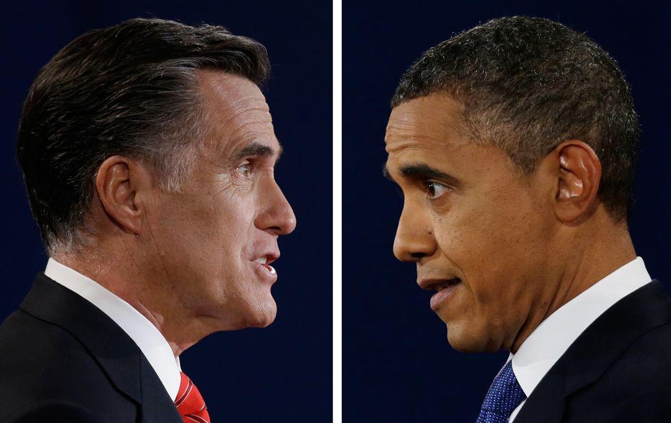 Saltano le regole sul ring di Hempstead tra Obama e Romney
