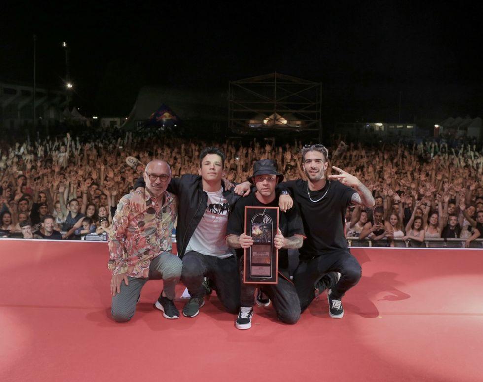Machete Empire festeggia, l'etichetta di Salmo vince il premio IMPALA