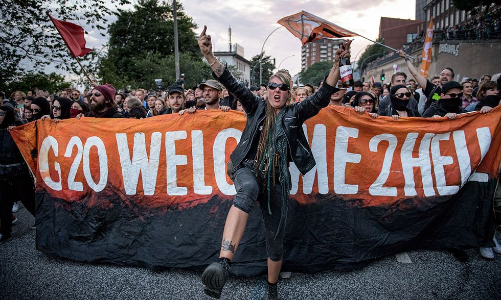 Amburgo G20 proteste
