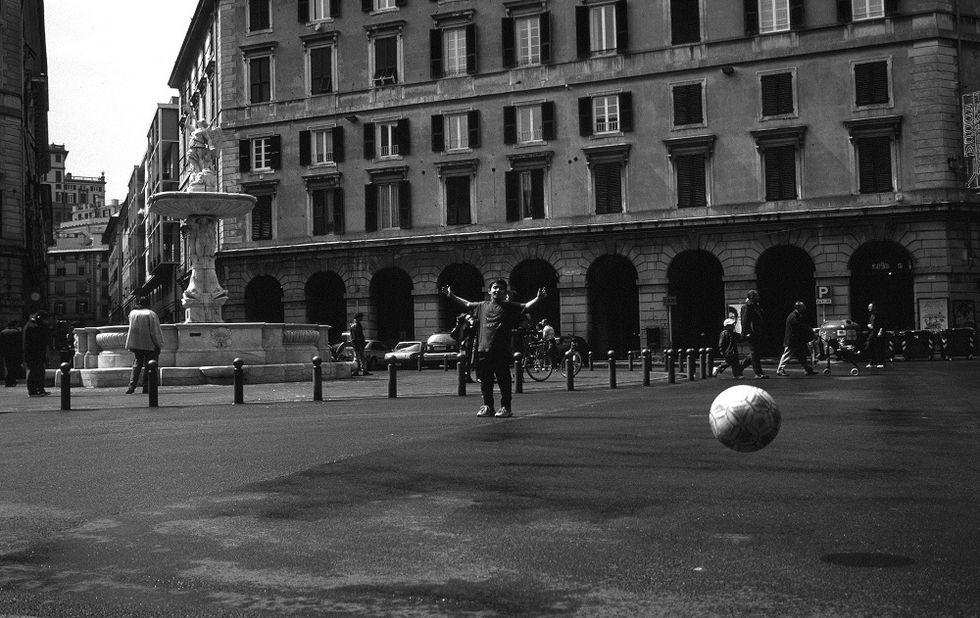 Celebrating Rollis in Genoa