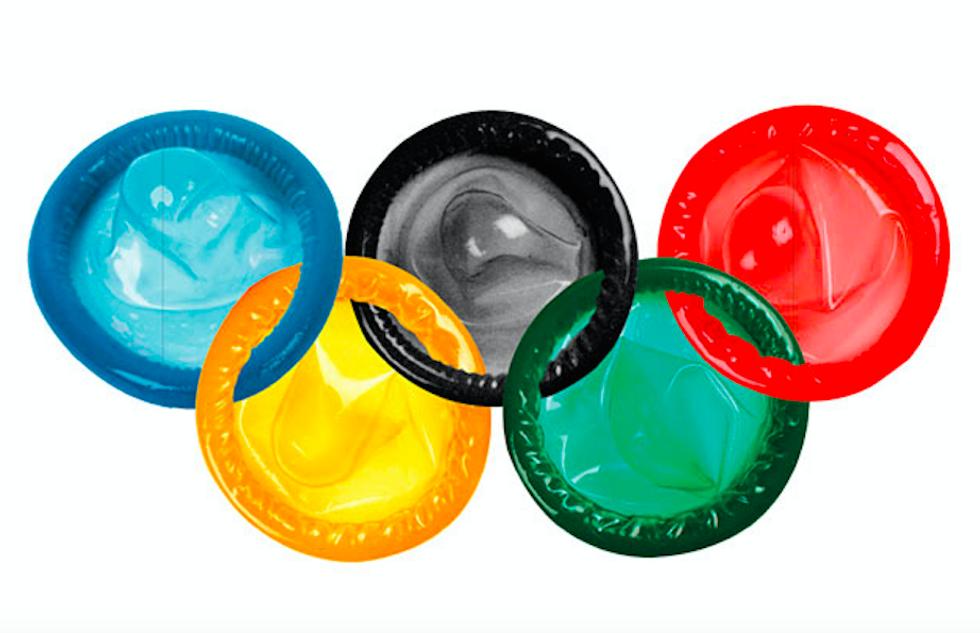 Le Olimpiadi del sesso: record di preservativi per gli atleti