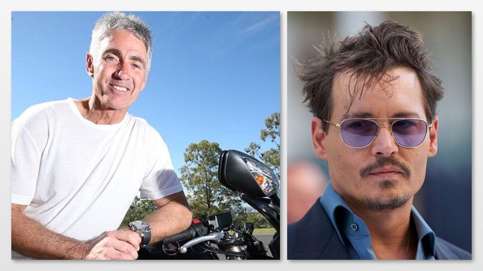 Brad Pitt e Johnny Depp, motociclisti sul grande schermo