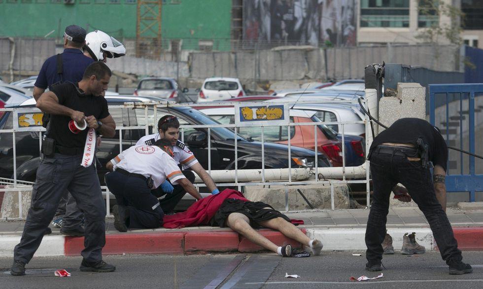 Aggressione a Tel Aviv