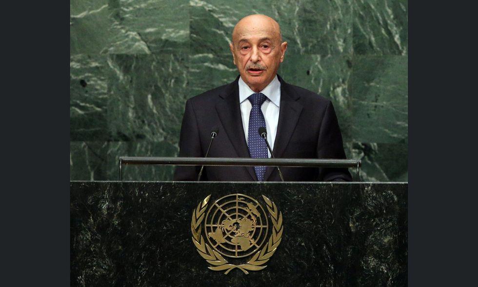 Aguila Saleh Issa all'ONU