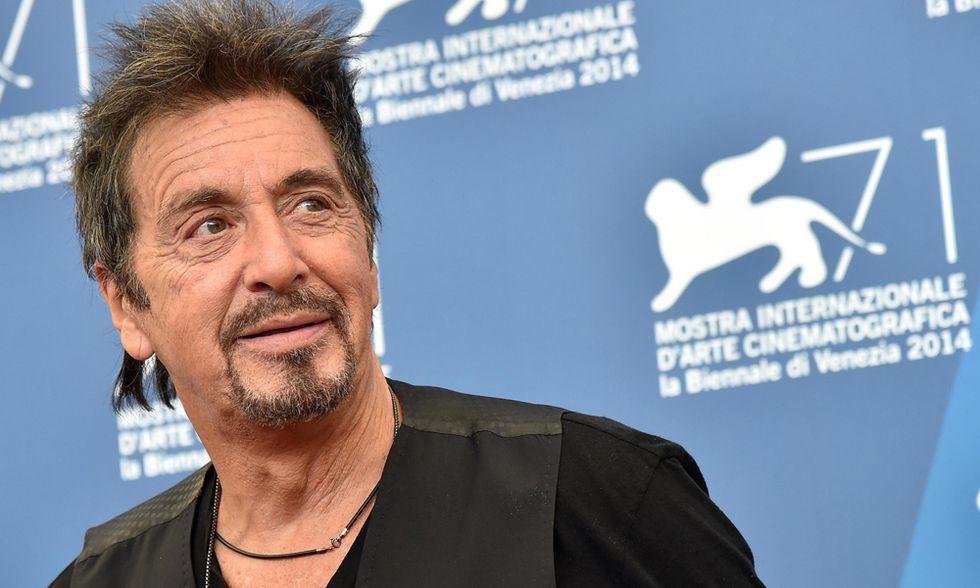 """Al Pacino, il """"rocker"""" per nulla depresso che infiamma Venezia"""