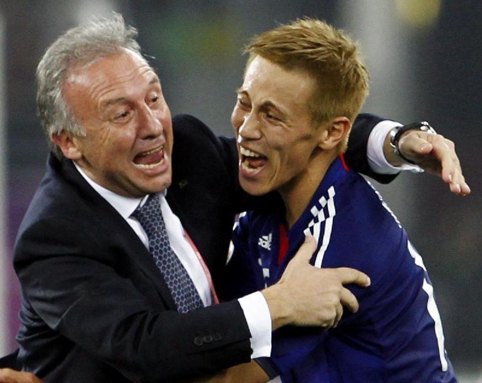 """Zaccheroni: """"sono felice che Honda giochi nel Milan"""""""