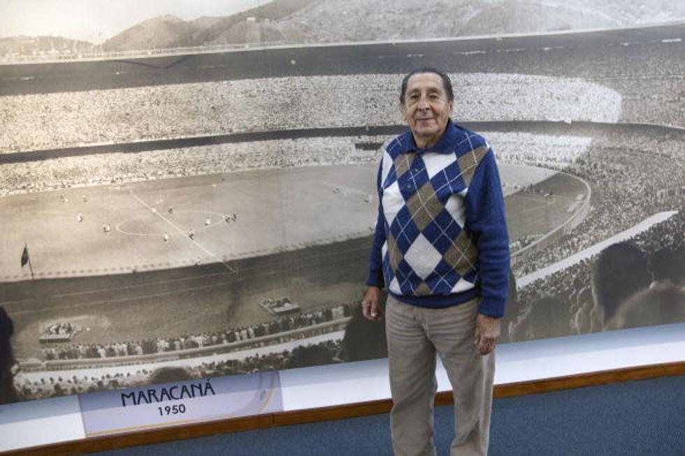 Addio Ghiggia, l'uomo del Maracanazo che fece piangere il Brasile