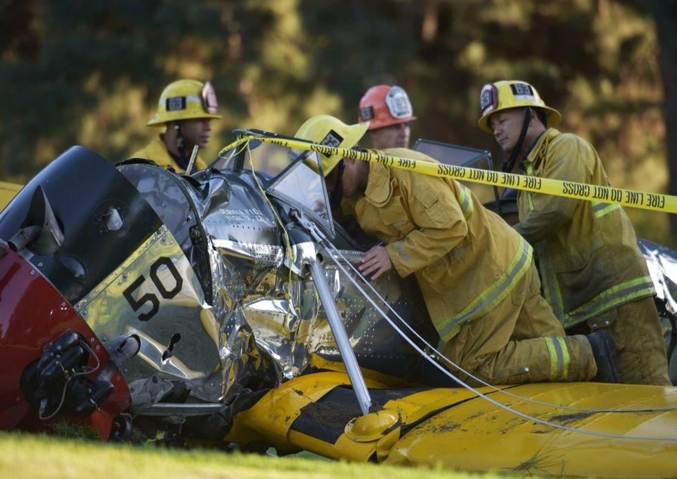Harrison Ford, incidente aereo