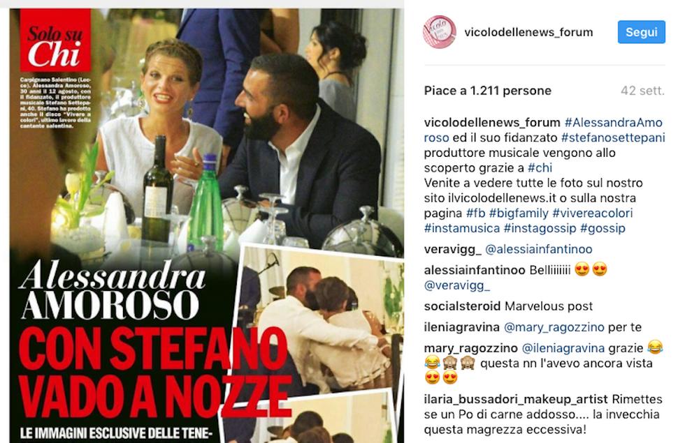 Alessandra Amoroso Stefano Settepani