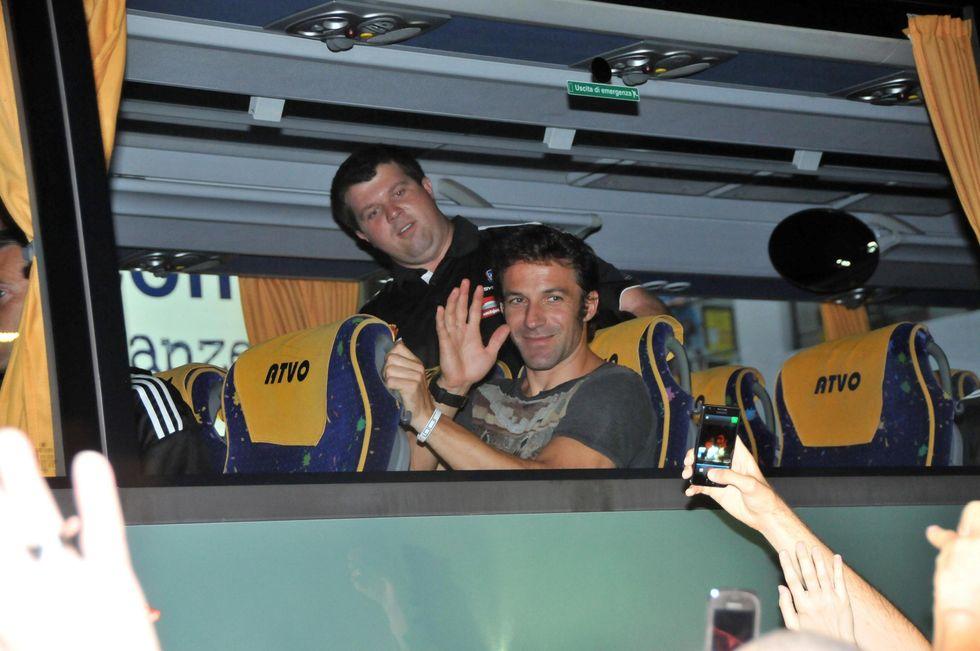 Del Piero a Jesolo. Ed è subito festa