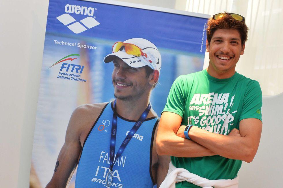A lezione di triathlon da Alessandro Fabian