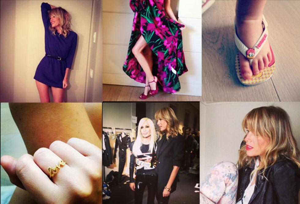 Il fashion blog della Marcuzzi tra i primi 100 più influenti al mondo