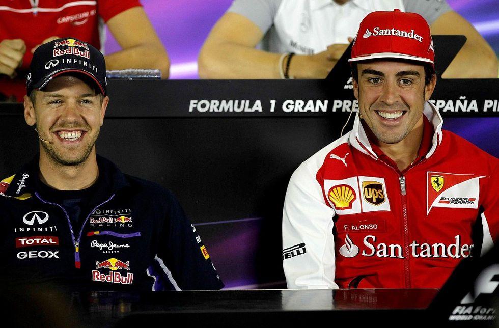 Alonso-Ferrari, c'eravamo tanto amati