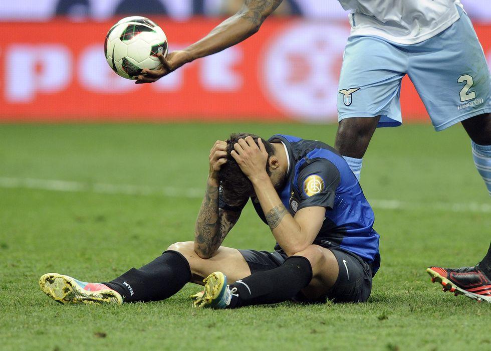 Le 15 sconfitte dell'Inter, è record negativo