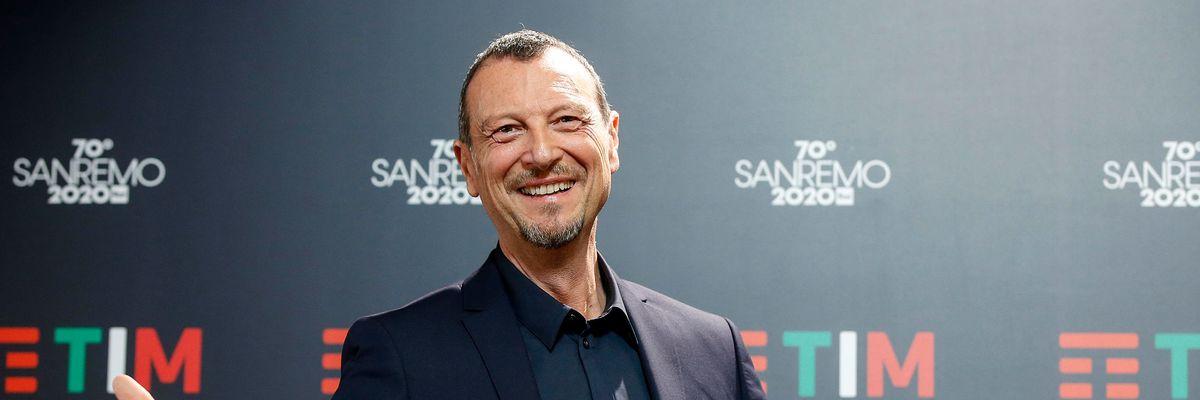"""Sanremo 2020: parte il Festival """"imprevedibile"""" di Amadeus"""
