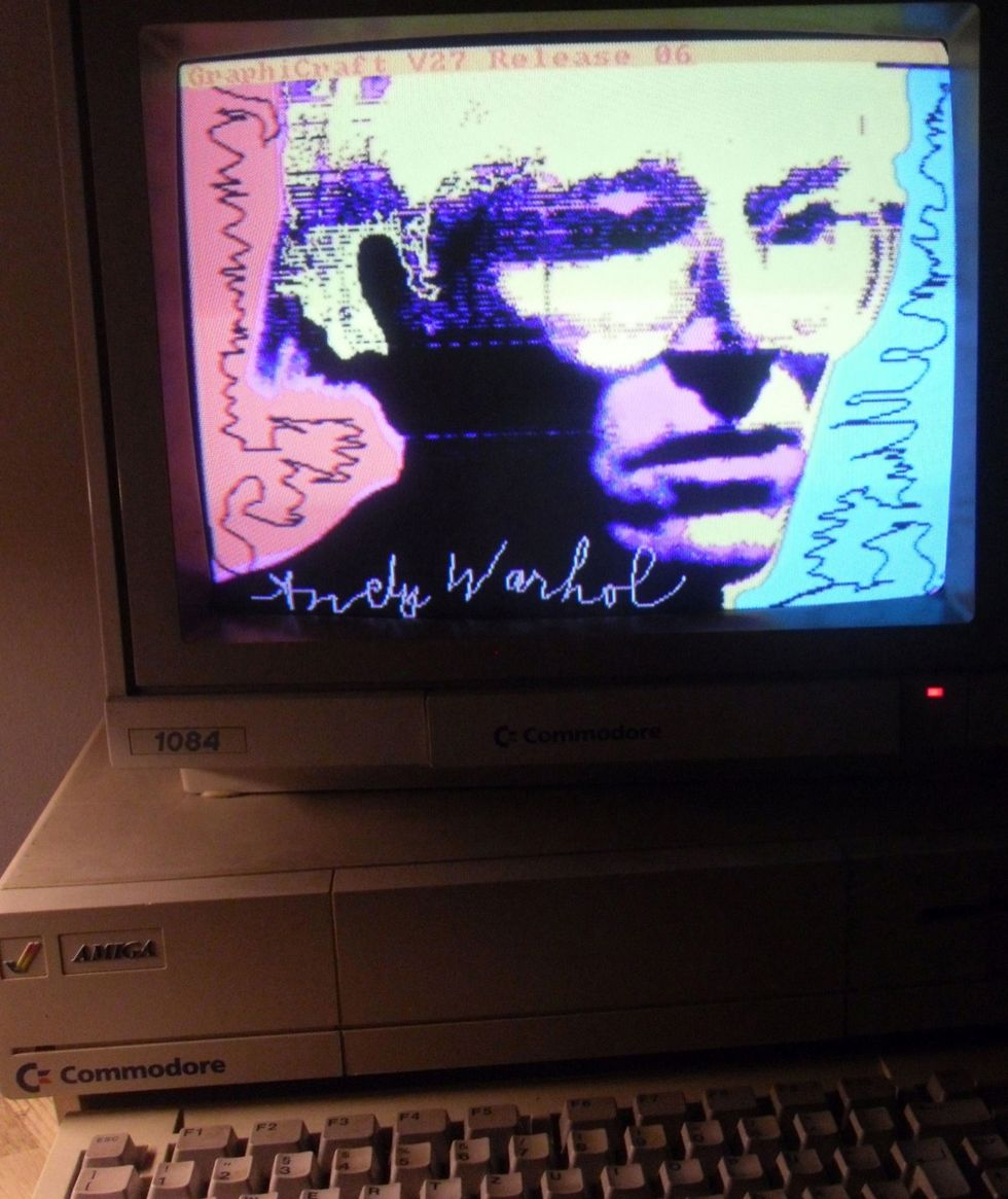 Andy Warhol, Autoritratto