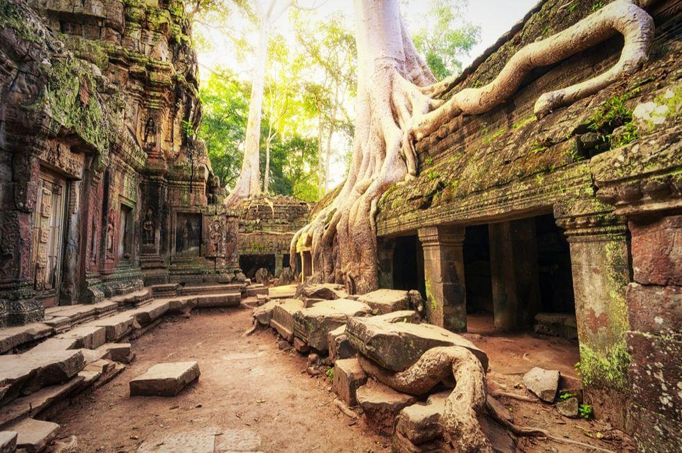 Angkor Wat, Siem Reap, Cambogia