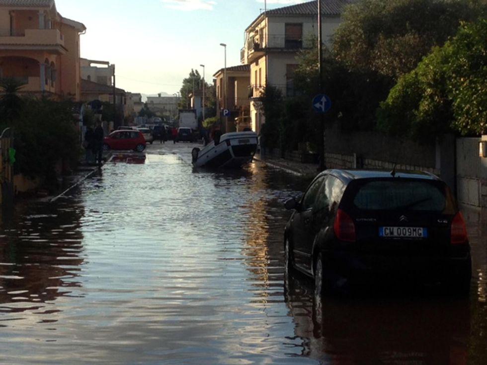 Alluvione in Sardegna: i video