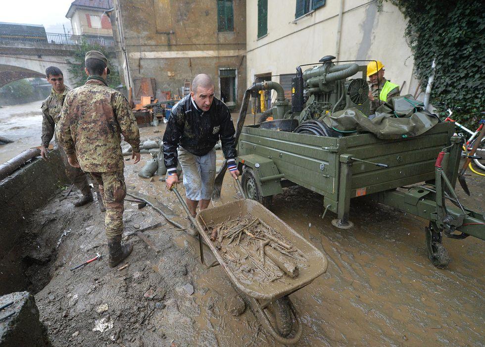 Sospese le tasse per Genova e i comuni alluvionati