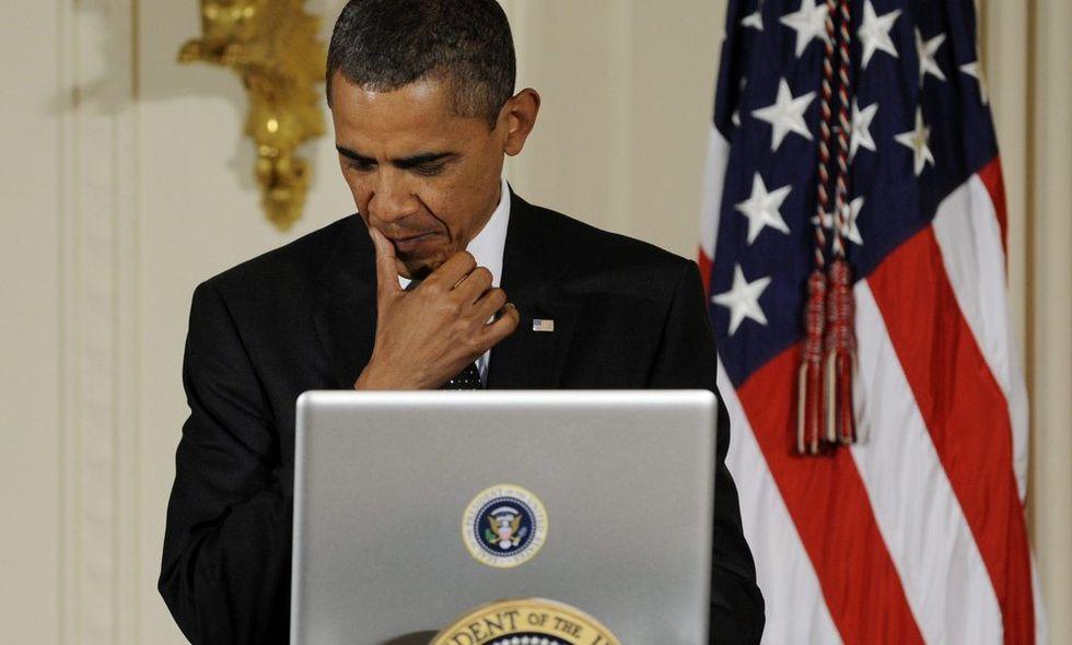 Chi twitta al posto di Barack Obama ?