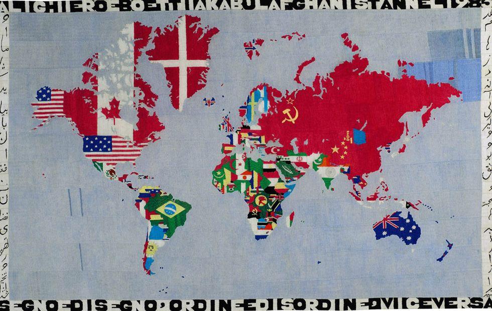 MoMA, Boetti e le fortune americane