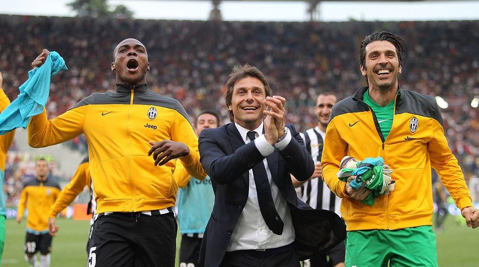 """Conte e la Juventus: """"Che bello tornare qui"""""""