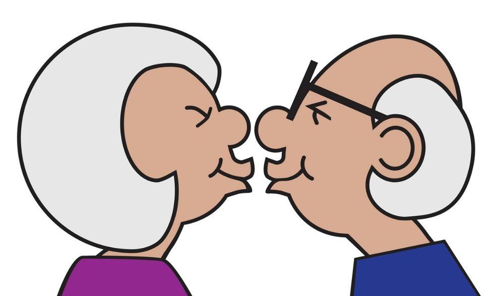 anziani amore