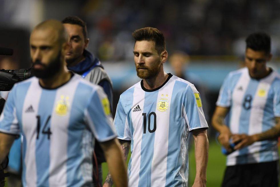 Argentina combinazioni eliminazione Mondiale Russia 2018