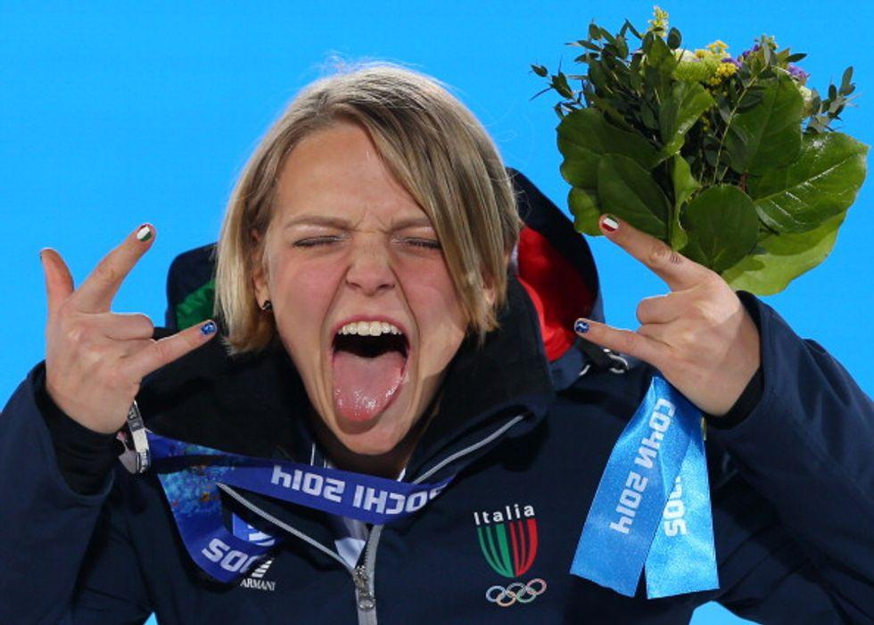 arianna fontana portabandiera italia olimpiadi 2018