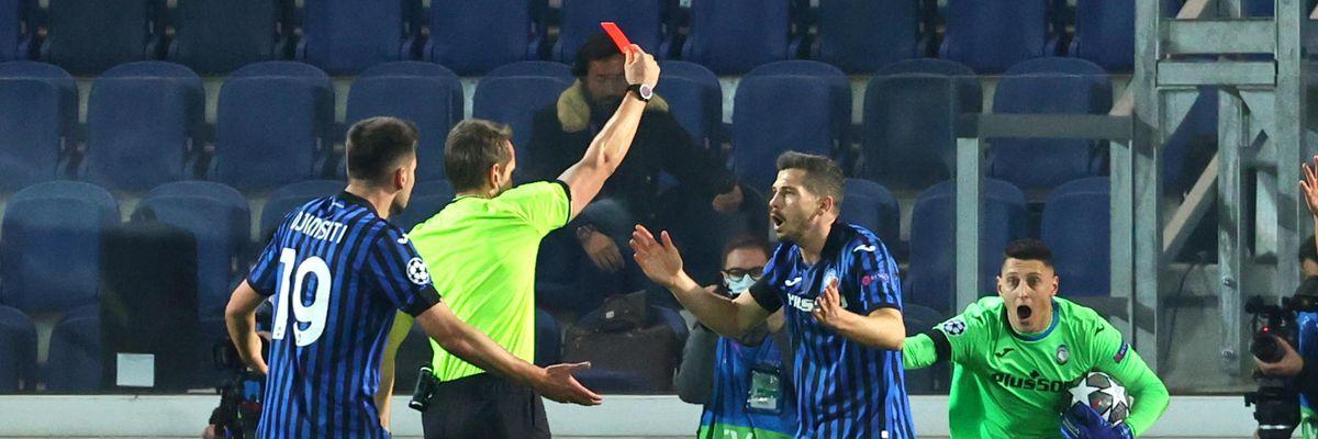 atalanta real madrid arbitro var espulsione polemiche champions league