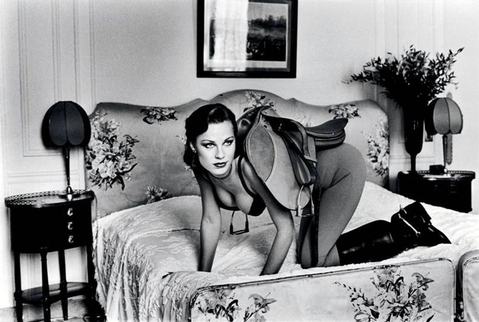 Helmut Newton in mostra a Roma
