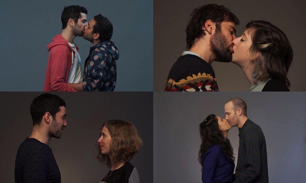Baci arabi ebrei