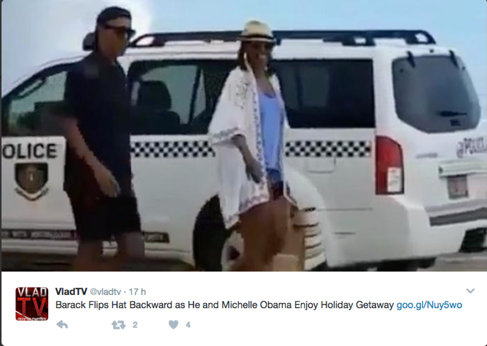 Barack e Michelle Obama in vacanza alle Isole Vergini