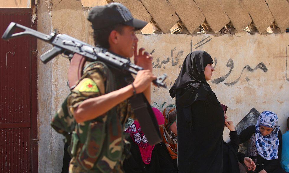 Battaglia di Raqqa, Siria
