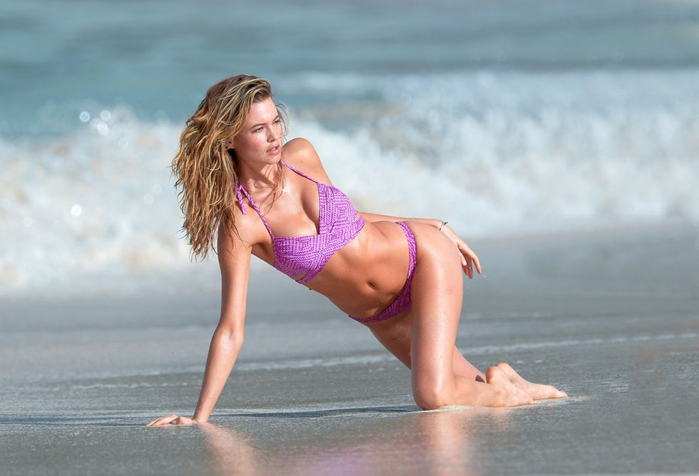 Behati Prinsloo bikini victoria's secret