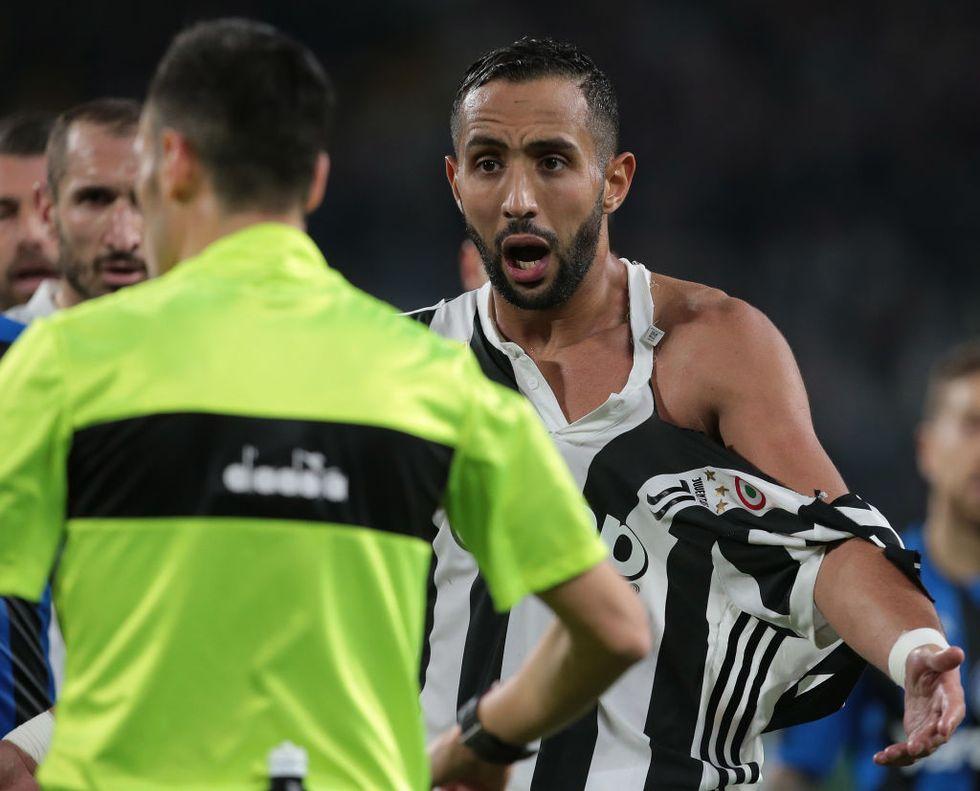 Benatia De Roon maglietta Juventus-Atalanta