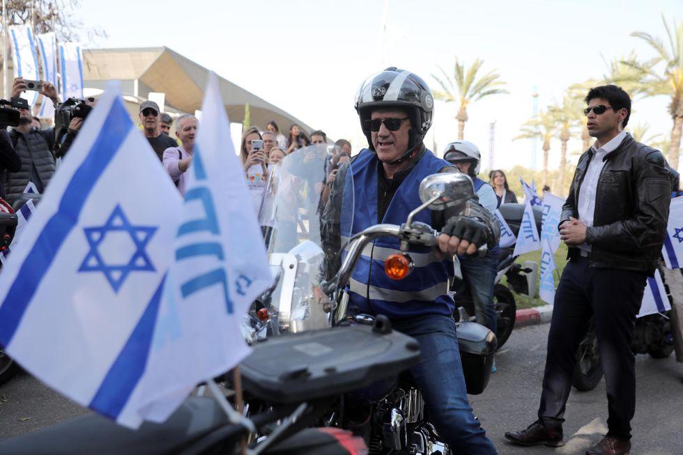 Benny Gantz israele