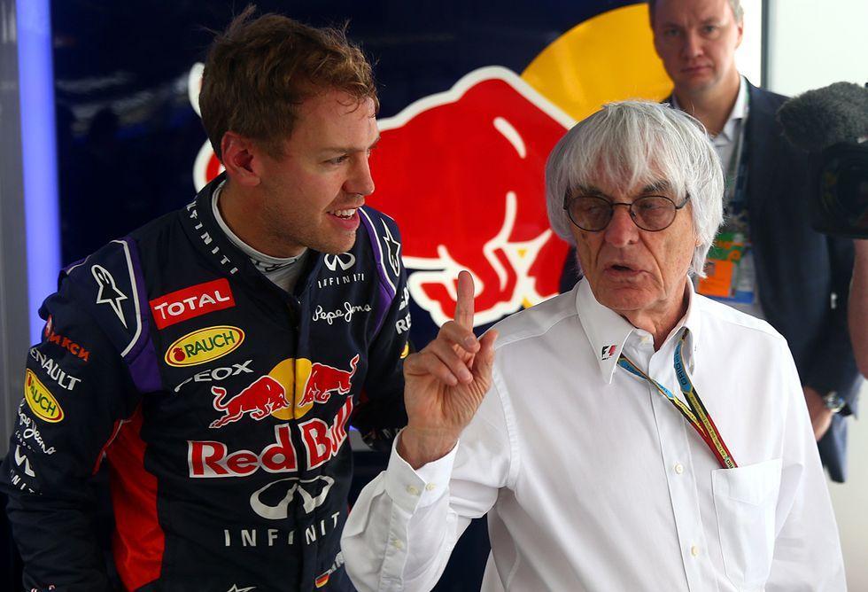 Bernie Ecclestone torna a capo della F1