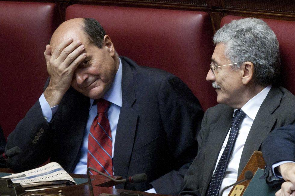 """D'Alema e Bersani: il """"duello"""""""