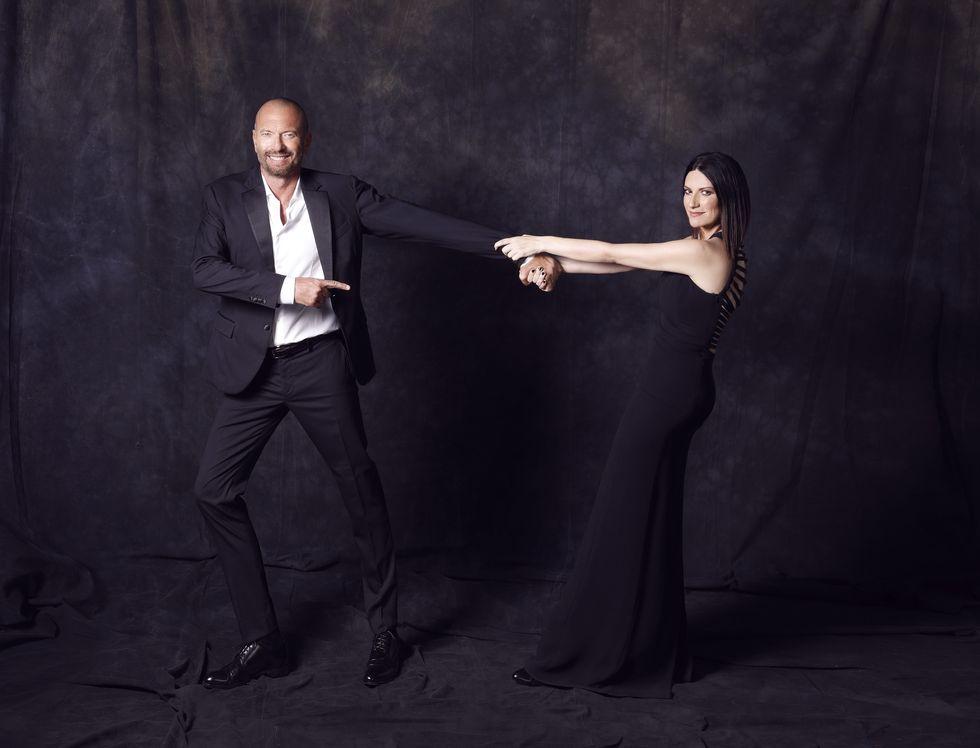 """Laura Pausini e Biagio Antonacci: """"Noi due siamo naturalmente in sync"""" - Intervista"""