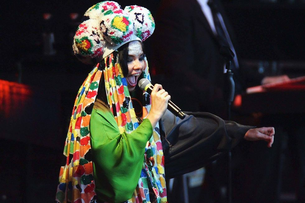 Bjork live alle Terme di Caracalla di Roma- Le 10 canzoni più belle