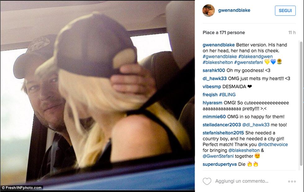 Blake Shelton e Gwen Stefani