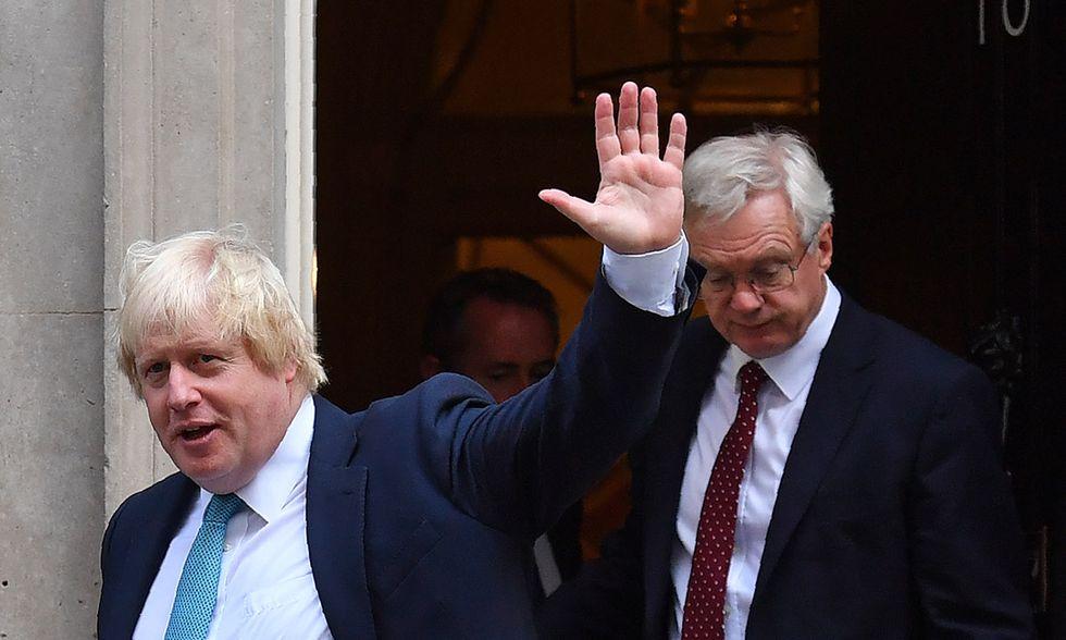 Boris Johnson e David Davis